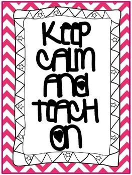 Keep Calm sign