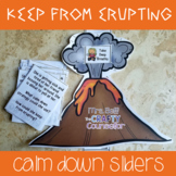 Keep From Erupting Calm Down Sliders (calm down control, emotional regulation)