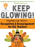 Keep Glowing: Feedback Forms for Teacher Recognition and E