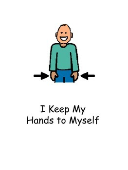 Keep Hands to Self Social Story