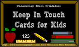 Keep In Touch Cards for Kids