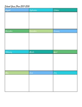 Keep It Simple Planner & The Year You Get Things Done Calendar (2017-2018)