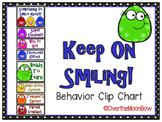 Keep On Smiling! Behavior Clip Chart