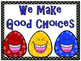 Keep On Smiling! Behavior Clip Chart