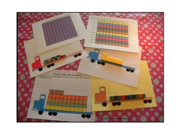 #backtoschool Preprinted! Keep On Truckin With Tens and Ones
