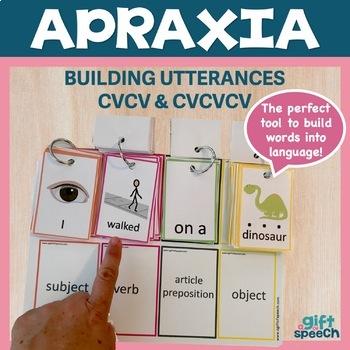 Apraxia Keep Talking 1 building utterances, expressive language, & articulation