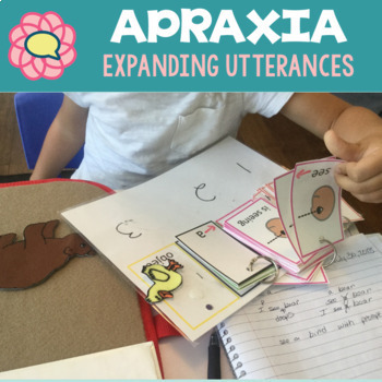 Apraxia Keep Talking 1 building utterances, expressive language, & articulation