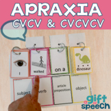 Apraxia Keep Talking 1 building utterances, expressive lan