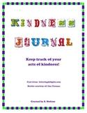 Keep Track of Kindness