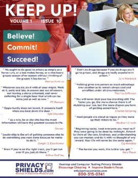 Keep Up! Issue 10  -  Motivate Your Students