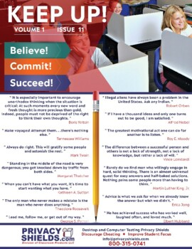 Keep Up! Issue 11  -  Motivate Your Students