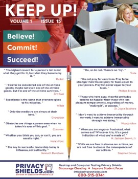 Keep Up! Issue 15  -  Motivate Your Students