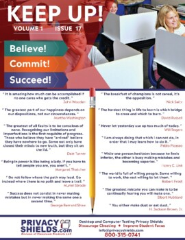 Keep Up! Issue 17  -  Motivate Your Students