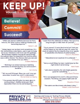 Keep Up! Issue 20  -  Motivate Your Students