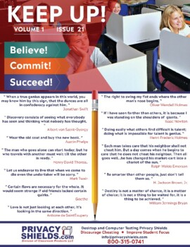 Keep Up! Issue 21  -  Motivate Your Students