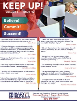 Keep Up! Issue 22  -  Motivate Your Students