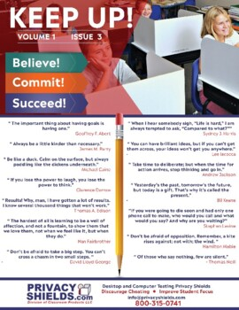 Keep Up! Issue 3  -  Motivate Your Students