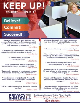 Keep Up! Issue 4  -  Motivate Your Students