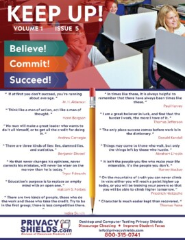 Keep Up! Issue 5  -  Motivate Your Students