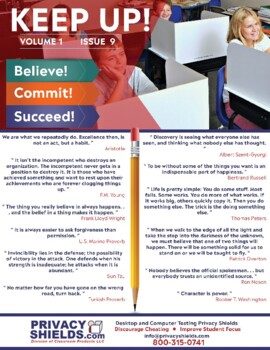 Keep Up! Issue 9  -  Motivate Your Students