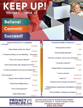 Keep Up! Special Christmas Issue - Merry Christmas