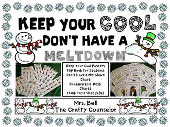 Keep Your Cool, Don't Have a Meltdown (Think Time/Anger Control/Calm Down Tools)