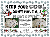 Keep Your Cool, Don't Have a Meltdown (Think Time/Anger Co