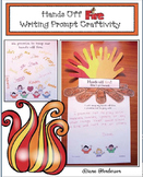 """Free Fire Safety Craft: """"Keep Your Hands Off Fire!"""" Writing Prompt Craft"""