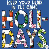 Head in the Game | Holidays| Christmas | Thanksgiving | Speech Therapy
