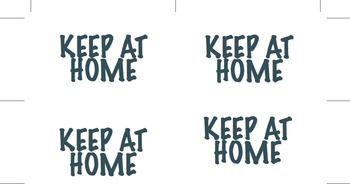 Keep at Home Folder Labels