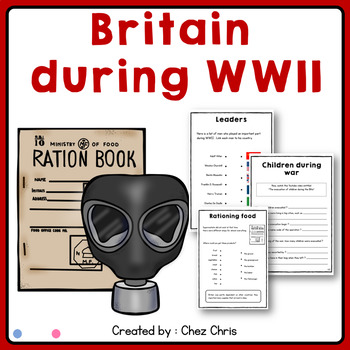 Keep calm and Learn about WWII: Britain during war