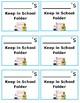 Keep in School Folder