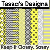 Keep it Classy Sassy {Digital Paper Pack}