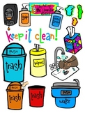 Keep it Clean Clip Art for Personal or Commercial Use