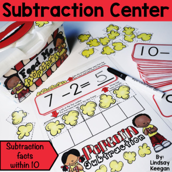 Keep it Poppin' With Subtraction - Subtraction Center
