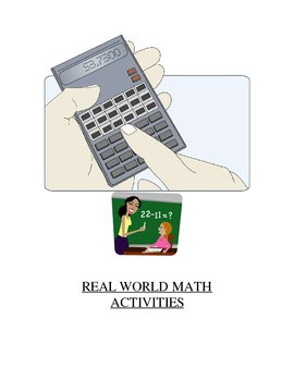 Keep it Real (Real World Math Activities)