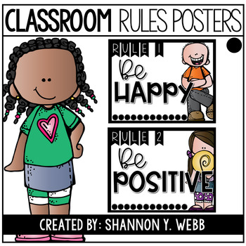 Keep it Simple Class Rules Posters