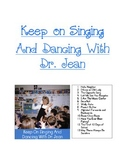Keep on Singing and Dancing with Dr. Jean lyrics and graph