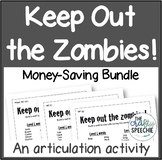 Keep out the Zombies! An Articulation Activity (Money-Savi