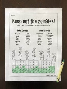 Keep out the Zombies! Articulation Activity for Earlier-Developing Sounds (SWL)