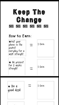 Keep the Change Coin Reward System Poster