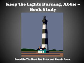 Keep the Lights Burning, Abbie - Book Study
