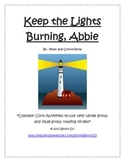 Guided Reading---Keep the Lights Burning, Abbie--- Literacy Activities