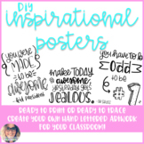 DIY Inspiration Posters - Growing Bundle!