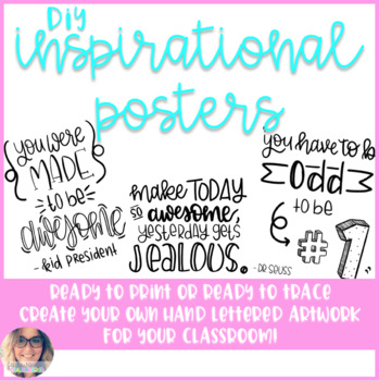 DIY Inspiration Posters - Growing Bundle!