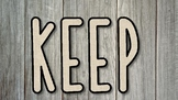 Keep the Quote -Wood