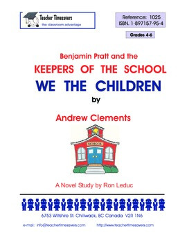 Keepers of the School - We the Children by Andrew Clements