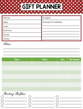 Keepin' Christmas Organized: A Planner for the Holiday Season