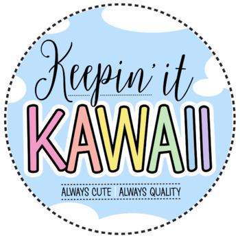 Keepin' It Kawaii Logo - For Credits Pages