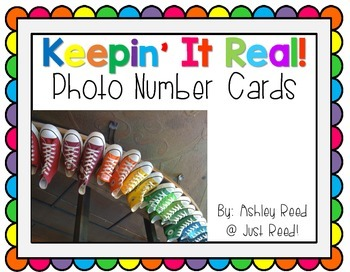 Photo Number Cards